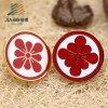 Custom Metal Flower Enamel Badge Pin