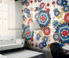 Background Wall Design Mosaic, Glass Art Pattern Mosaic (HMP855)