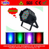 36PCS*3W RGB 3-in-1 Cast Aluminum Indoor LED PAR