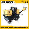 Hydraulic Double Drum Vibratory Hand Roller Compactor with Famous Diesel Engine (FYL-800C)
