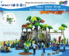 Tree Series Kids Playsets with Slide and Swing Hf-11101