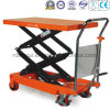 350-700kg Double Scissor Manual Table Lifter