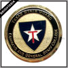 Golden Challenge Coin for Texas State Guard (BYH-10488)