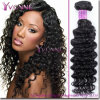 Excellent Deep Wave Virgin Remy Hair Weave Brazilian Human Hair
