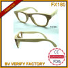 Fx180 Top Quality Handcraft Manual Square Frames Wooden Sunglasses