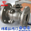 CF8m / CF8 2PC Flanged Ball Valve with Mounting Pad
