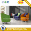 Modern Steel Metal Base Fabric Upholstery Leisure Chair (HX-s322)