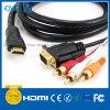 HDMI Plug-VGA+3 RCA Plug HDMI Cable