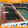 Dual Color Aluminium Casement Window with Mosquito Net