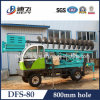 800mm Hole Diameter Tractor Small Screw Pile Machine