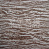 Bronzing Suede Polyester Leather Fabric with Backing