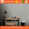 High Grade Golden 3D PVC Wallpaper for KTV/Bar/SPA