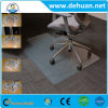 Clear Custom PVC Chair Floor Mat, Living Room Floor Mat
