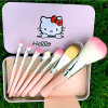 Cartoon 2 Makeup Brush 7 PCS Professional Make Up Brush kit