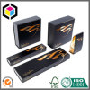 Luxury Gold Hair Extension Cardboard Paper Gift Packaging Box