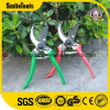 TPR Handle Carbon Steel Garden Flower Pruning Scissor