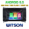 Witson Octa-Core (Eight Core) Android 6.0 Car DVD Mercedes-Benz a/B Class 2g ROM 1080P Touch Screen 32GB ROM