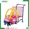 Metal & Plastic Colorful Kids Trolley Cart