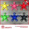 Newest Design Plastic Star Hand Spinner Toys Finger Spinner Fidget Spinner