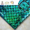 Scale Sequin Rhombus Emboridy Polyester Fabric