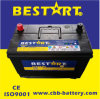 12V 80ah SMF Rechargeable Automotive Battery 95D31L-Mf
