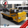 Factory Price 3.0t Platform Full Electric Tractor Trailer Truck with DC Motor