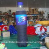 Vivid Design and Portable Inflatable Beverage PVC Bottle for advertisement