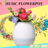 2017christmas Gift, Musical Flower Pot with Bluetooth