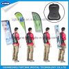 Various Shape Custom Advertising Backpack Feather Flags