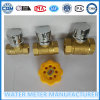 Brass Material Magnetic Lock Ball Valve Dn15-25mm