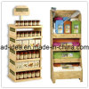 Printed MDF Flooring Display Shelf Bracket Stand
