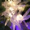 Outdoor Solar Santa LED String Light