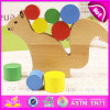Cute Squirrel Balance Beam Educational Wooden Balance Blocks Toy for Kids W13D091