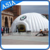 White Inflatable Igloo Tent, Outdoor Inflatable Dome Tent Advertising