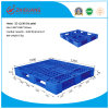 EU Standard Pallet 1.2*1.0m HDPE Static 3 Ton Plastic Tray Forklift Pallet with 5 Runners for Warehouse Storage Products (ZG-1210B)