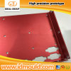 Red Anodize Sheet Metal Zinc-Plated Rapid Prototype