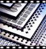 Decorative Galvanized Plastic Perforated Metal Sheet
