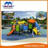 Certified Funny Children Playground Equipment with Slide Theme