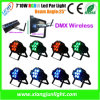 Mini LED PAR 7X10W Clay Packy Stage Light