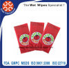 Good Quality Disposable Restaurant and Hotel Wet Towels Single Pack Wipe
