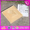 Wood Geometrical Toy, Jigsaw Puzzle Toy, Wooden Intelligence Toy, Wood Jigsaw Puzzle Game W11d002