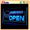 Laser Logo Engraving Acrylic Outdoor LED Open Sign