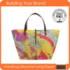 BSCI Factory Printing Flower Fashion Promotional Beach Bags