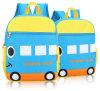 6 Kinds of Children′s Oxford Backpack Cartoon Candy School Bag Custom Printing