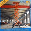 Hydraulic Two Man Mobile Scissor Elevated Work Platform for Sale