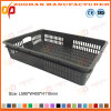 Plastic Vegetable Storage Basket Food Container Fruit Turnover Box (Zhtb7)