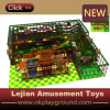 Indoor Playground Type and Plastic Playground Material Kids Play House (T1501-3)