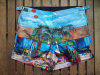 2015 Fixed Position Digital Print Swimming Shorts Flat Waistband Surf Shorts