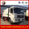 190HP 12mt/12ton Garbage Collector Truck