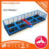 Toddler Trampoline Entertainment Equipment Gymnastics Trampoline with Net